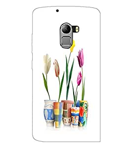 PrintDhaba Flowers D-2108 Back Case Cover for LENOVO K4 NOTE A7010a48 (Multi-Coloured)