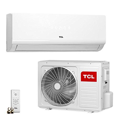 TCL KC 24000 BTU Split Klimagerät Wärmepumpe A++ (ohne Leitungen, blaue Beschichtung, 6.4 kW)