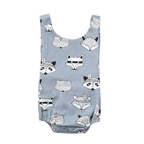 DEELIN Baby-Jungen Strampler Bodysuit Overall Bekleidungssets Geburtstag Outfit Hosenträger Neugeborenen Fotoshooting Kostüm (Monate Baby Schwein-kostüm-3-6)