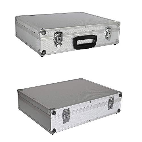 Alu Werkzeugkoffer Aluminiumkoffer Sortimentskasten Werkzeugkasten Angelkoffer Aktenkoffer Koffer'