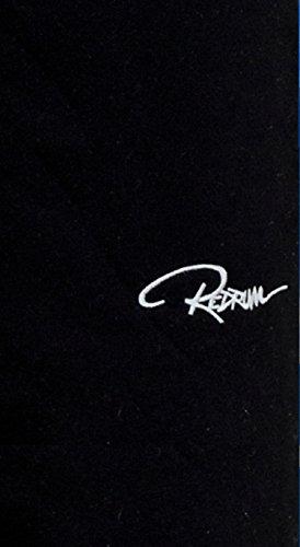 Redrum Jogging Plain Pant Hose, Größe:5XL;Präzise Farbe:Schwarz