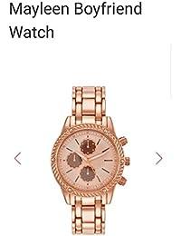 Avon Mayleen Boyfriend Reloj de Pulsera Masculino Cuarzo Oro Reloj