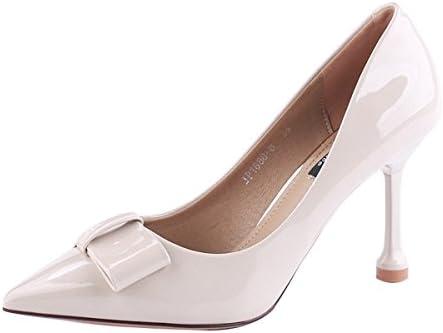 KPHY Zapatos de Mujer/Cabeza Puntiaguda 9 Cm Zapatos De Tacon Alto Delgado Y Superficial De Boca De Moda De Verano...