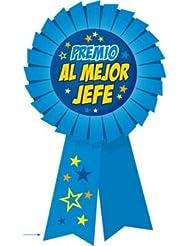 """Pinkmarket 94325 - Original y divertido regalo MEDALLA/PIN con mensaje. Modelo """"PREMIO AL MEJOR JEFE"""""""