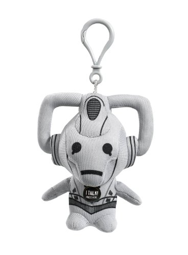 Doctor Who 4-inch Mini Cyberman Talking Plush ClipOn
