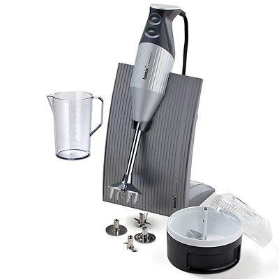 Bamix 100.309 Swissline Powerful Hand & Stick Blender – Silver