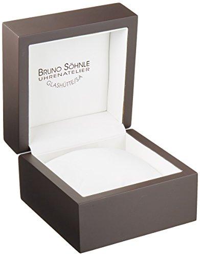 Bruno Söhnle Herren-Armbanduhr Marcato Chronograph Quarz Leder 17-13143-741