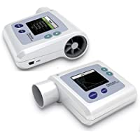 HealthyLife PEF FEFV1 FEF VC Lung - Espirómetro digital