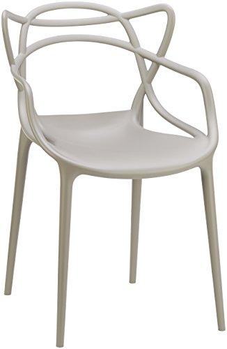 Kartell 586507 Stuhl Masters, grau: Philippe Starck
