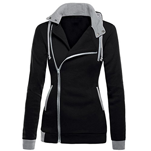 guangyuanli-womens-oblique-zipper-long-sleeve-solid-color-hoodie-jacket-coat-black-s