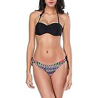 Luckycat Tankini Conjunto Tops y Bragas Trajes de Baño Bañadores Ropa Verano Mujer Tank Top Deportivo Tankini Top Bikini Bikini Conjuntos De Dos Piezas Beachwear Swimsuit
