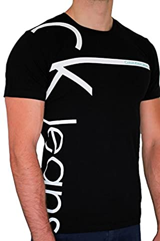 T-shirt CALVIN KLEIN JEANS homme manches courtes noir