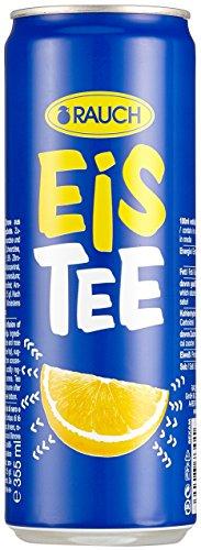 Rauch EisTee Zitrone, 24er Pack (24 x 330 ml) (ohne Pfand, Lieferung nur nach Österreich)