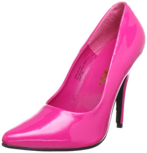 Pleaser SEDUCE-420 Damen Pumps, Pink (H. pink pat), EU 43 (UK 10) (US 13)
