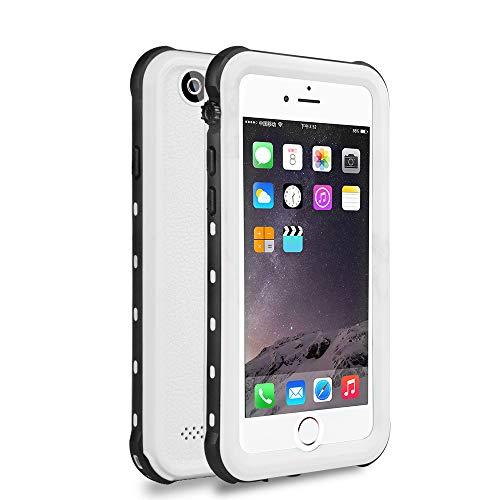 ChuWill iPhone 6 wasserdichte Hülle, iPhone 6s Schutzhülle, für Schnorcheln & Schwimmen Haltbarkeit Staubdicht Schneedicht stoßfest Handyhülle für iPhone 6/6s (4.7 inch) - Weiß