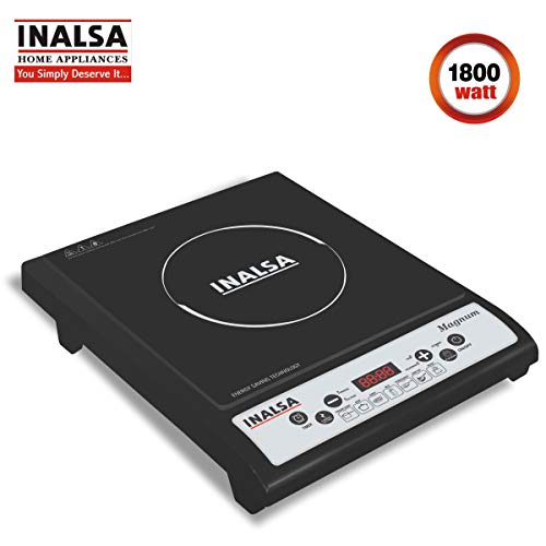 Inalsa Magnum 1800-Watt Induction Cooktop (Black)