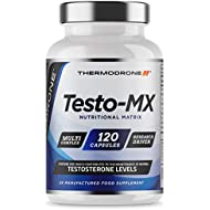 Test Boosters for Men | 120 Capsules Testosterone Support Supplement | Contributes to Normal Testosterone Levels & Reduction in Fatigue | Zinc Booster, Vitamin B6, Maca Root, D-Aspartic Acid | UK Made