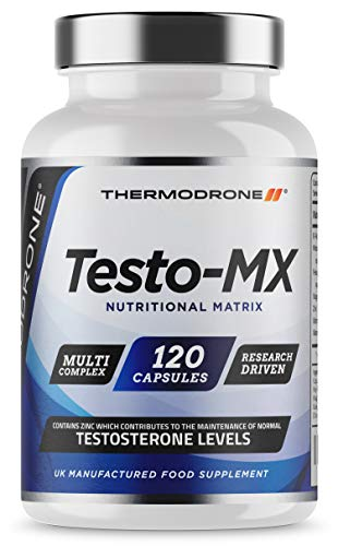 Test Boosters for Men | 120 Capsules Testosterone Support Supplement