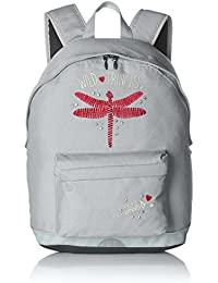 IKKS Cartable Dragonfly S, 40 cm, 19 L, (Gris)