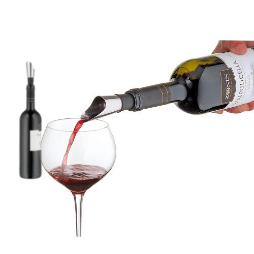 WMF VINO Dekantierausgießer mit Belüfter, Weinausgießer, Edelstahl Cromargan, Kunststoff, H 8cm - 3