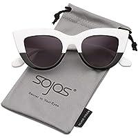 SOJOS Moda Classic Celebrity Bold spessa delle signore delle donne di gatto occhiali da sole occhi SJ2939