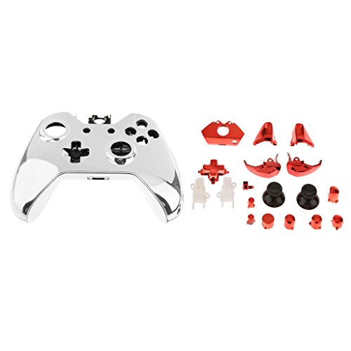 Banggood ELECTROPRIME Red Full Housing Shell Case Button Parts for Xbox One