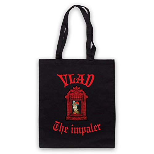 Inspiriert durch Kasabian Vlad The Impaler Inoffiziell Umhangetaschen Schwarz