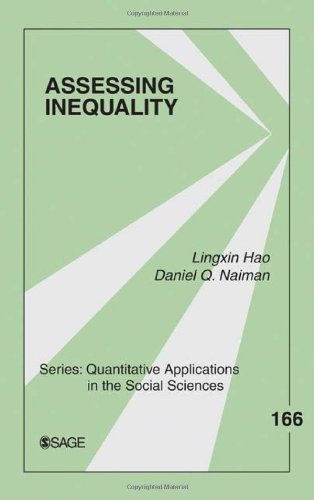 Assessing Inequality: 0 (Quantitative Applications in the Social Sciences)