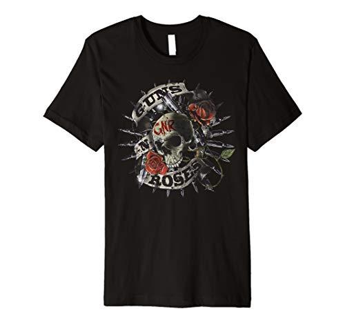 Guns N' Roses Skull Floral T-Shirt -