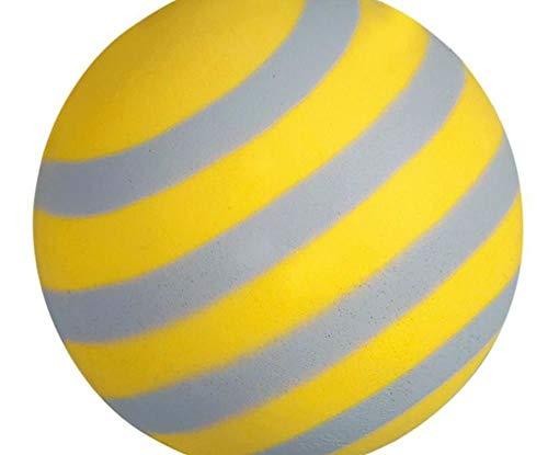 Schaumstoffbälle Sortiment Phosphoreszierend 6 cm Kugeln Luftballons Moosgummi Spielzeug Hunde -