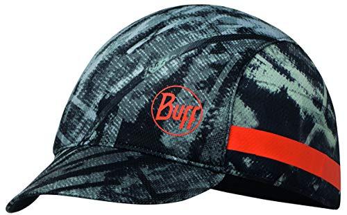 Buff Pack Run Cap Laufmütze + Ultrapower Schlauchtuch | mit Visier | Faltbar | UV-Schutz | Laufen | Joggen | Sportmütze | Laufkappe (City Jungle - 119511.937.10.00)