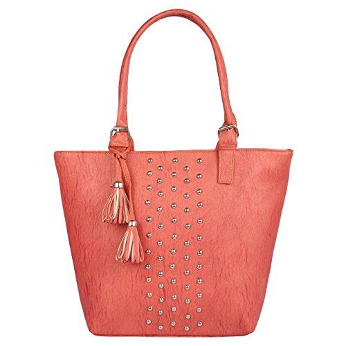 Jovial Branded stylish women Pink handbag