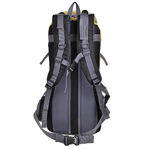 borsa a tracolla sacchetto di alpinismo esterno 40L grande capacità di escursione di campeggio di viaggio professionale , red Green
