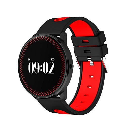 57-PAIOUPAIOU Studenten Sport Smart Watch Fitness Tracker Multifunktionsuhren Herzfrequenz Blutdruck Tracker Uhr (Der Ruhe-herzfrequenz-monitor)