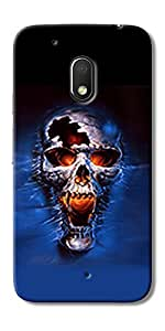 DigiPrints High Quality Printed Designer Soft Silicon Case Cover For Motorola Moto G4 Play