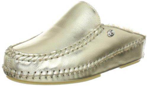 Hans Herrmann Collection hhc Saturnia 021654-150 Damen Clogs & Pantoletten Silber/platino