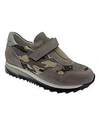 C3738 camouflage orthopédique baskets sable femme de chaussures