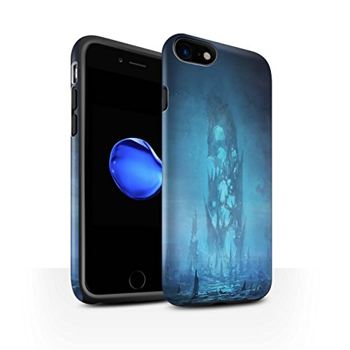 Offiziell Chris Cold Hülle / Matte Harten Stoßfest Case für Apple iPhone 8 / Rest Muster / Fremden Welt Kosmos Kollektion Rest