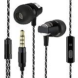 Kingyou In Ear Ohrhörer Kabelgebundene Headsets Bass Kopfhörer für Handys