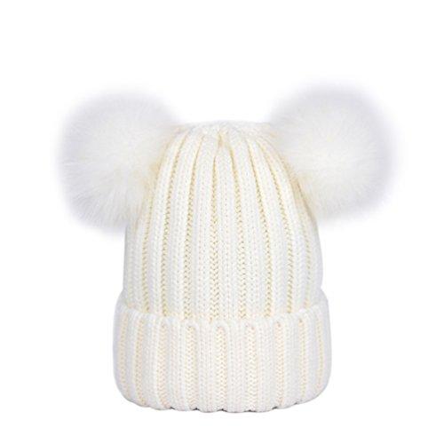 LAUSONS Sombreros mujer invierno - Gorros punto dos