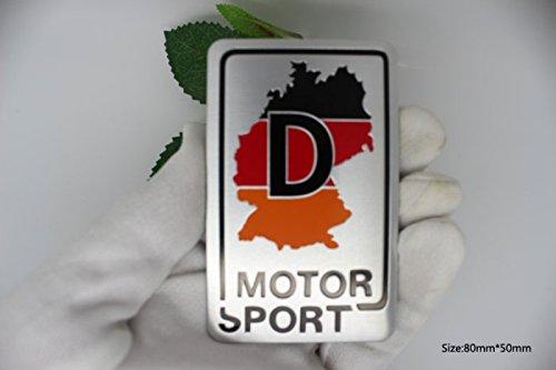D113 Motor Sport De auto aufkleber top 3D Emblem Badge Plakette Abzeichen Alu