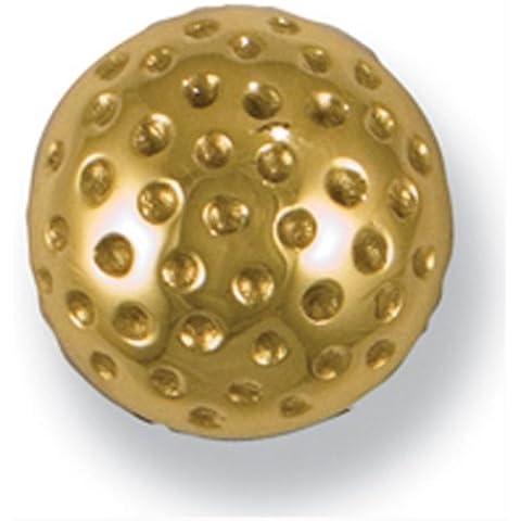 Golf Ball Doorbell Ringer - Brass by Michael Healy Designs