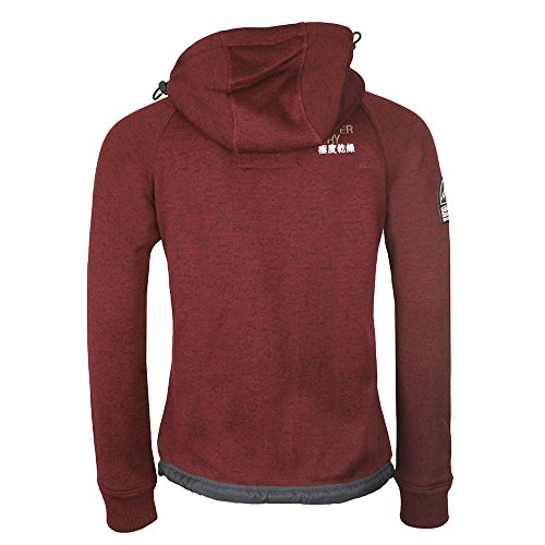 ... Superdry Herren Sweatjacke bordeaux (502)