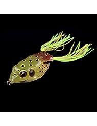 Lixada 13g / 6cm Fishing Lure lebensechte Frosch Hohlkörper weiche Köder Angelausrüstung