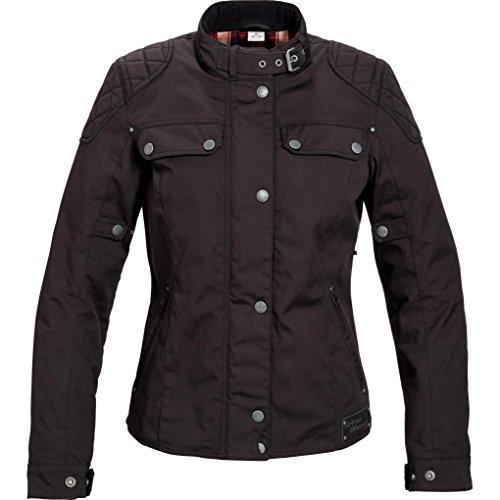 *Motorradjacke Spirit Motors Retro-Style Damen Textil Jacke 1.0 schwarz L*