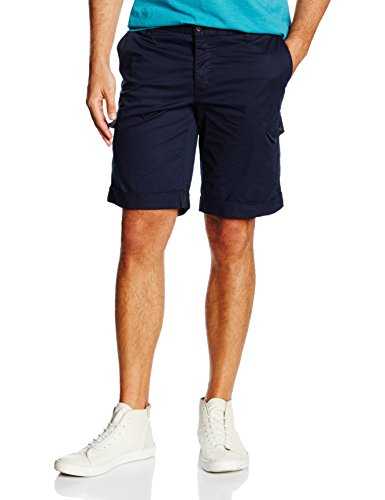 H.I.S Jeans Herren Shorts Bermuda Cooper, Gr. One size (Herstellergröße: 33), Blau (Navy Blazer 4495)