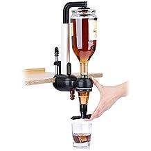 BRMK Sola Cabeza Invertida Invertida Estante de Vino Vino Sola Cabeza Clip Tipo Separador de Vino