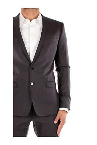 G1DKCTFU3H0N0799 Dolce&Gabbana Costumes Homme Laine Gris Gris