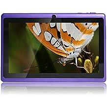 JEJA Tablet Android Google de 7 pulgadas PC 4.2.2 8GB 512MB DDR3 A23 Dual Core 1.5GHz Cámara capacitiva de la pantalla Wifi - Púrpura