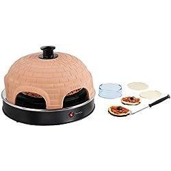 Domoclip DOC110A Pizza Party, 1200 W, Noir, Marron